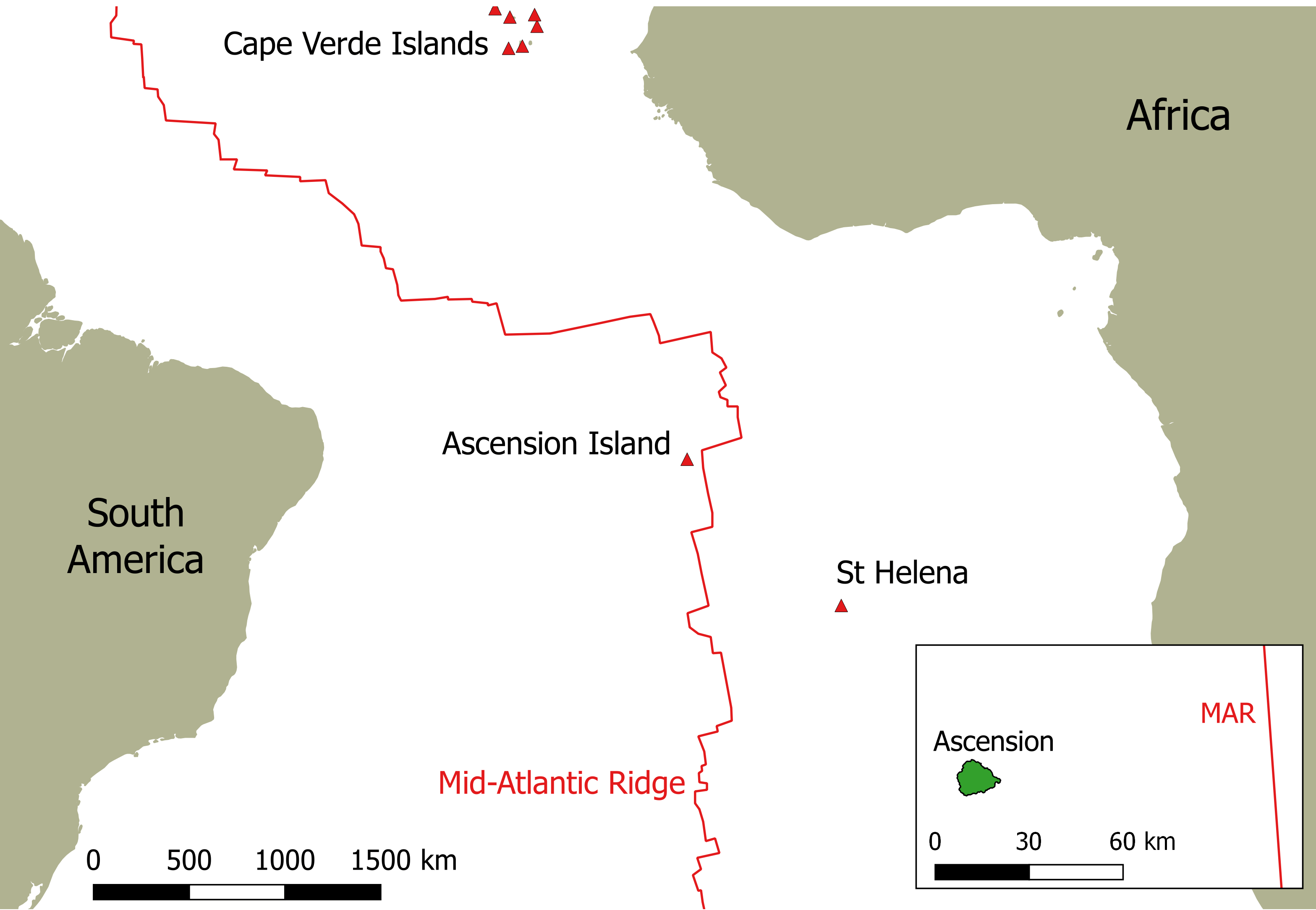 The geology of Ascension Island Ascension Island Volcanology