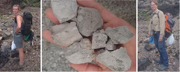 photo 3 - EC bags of pumice